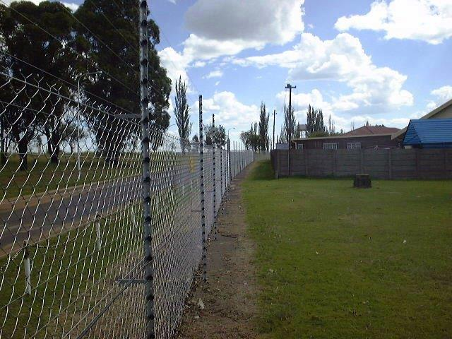 Free Standing Electric Fencing, Industrial Park Electric Fencing